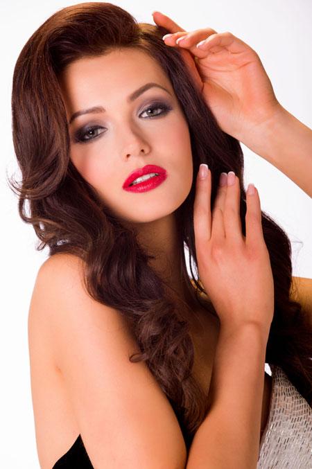 Miss Ukraine - Olga Storozhenko.