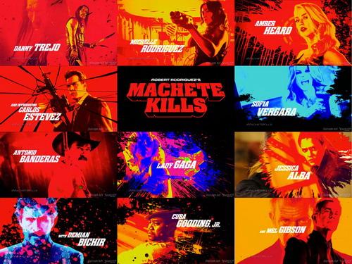 """Các diễn viên chính trong """"Machete Kills"""". Ảnh: A Company."""