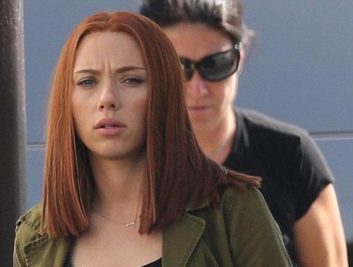 """Scarlett Johansson với tạo hình nhân vật Black Widow trong """"Captain America: The Winter Soldier"""". Ảnh: Marvel."""