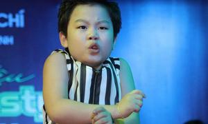 'Psy nhí' sẽ nhảy cùng Quang Anh