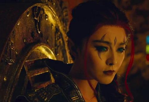 """Tạo hình của Phạm Băng Băng trong vai Blink được hé lộ trong trailer đầu tiên của """"X-Men: Days of Future Past"""". Ảnh: Fox."""
