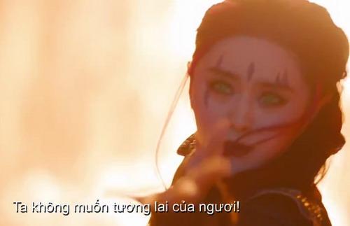 Một khoảnh khắc chiến đấu của Blink cũng được điểm qua chớp nhoáng trong trailer. Ảnh: Fox.