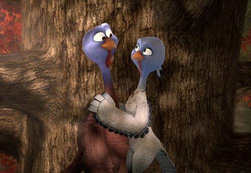 """Hai nhân vật chính của """"Free Birds"""". Ảnh: Relativity Media."""