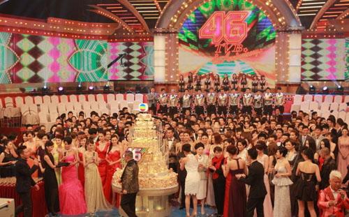 Sao TVB hội tụ trong hoạt động kỷ niệm 46 năm thành lập đài tối 19/11.