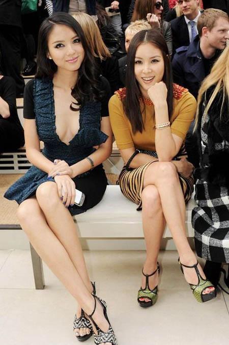 Tử Lâm sexy bên người đẹp châu Á