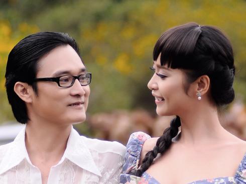 Lê Kiều Như và Nguyễn Nhất Huy được xem là cặp tình nhân bền bỉ của showbiz Việt.