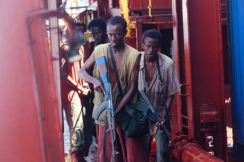 Những diễn viên nghiệp dư được tuyển chọn vào vai các tên cướp Somali.