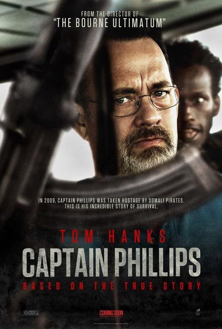 """""""Captain Phillips"""" dựa trên một câu chuyện có thật từng gây chấn động nước Mỹ và thế giới."""