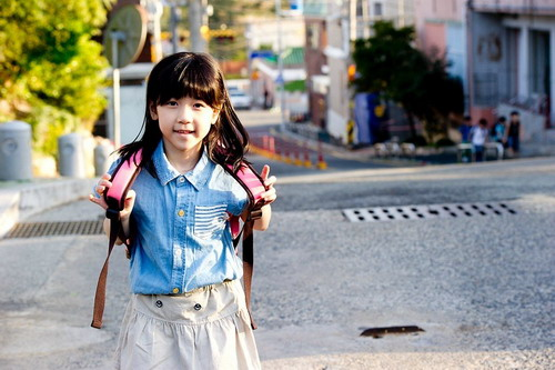 Cô bé So-won, nhân vật chính của phim.