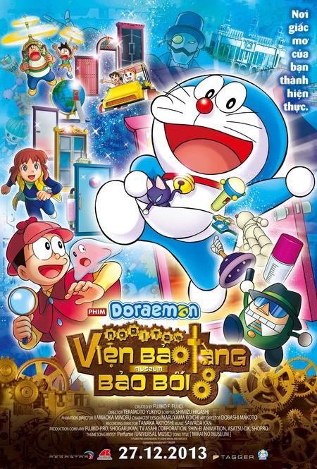 Doraemon, Nobita và nhóm bạn Xuka, Xeko, Chaien sắp hội ngộ khán giả Việt Nam.