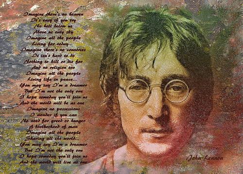 """""""Imagine"""" - bài hát vĩ đại của John Lennon."""