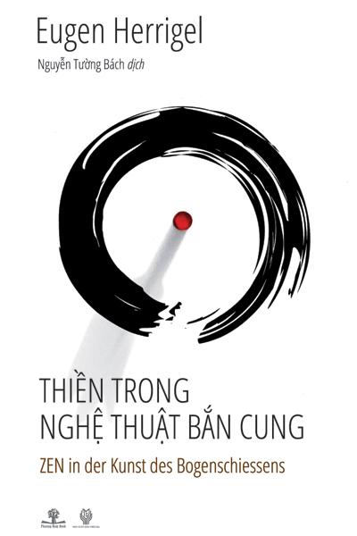 """Bìa cuốn """"Thiền trong nghệ thuật bắn cung""""."""