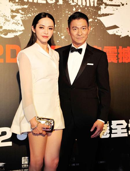 Diêu Thần, Lưu Đức Hoa tham gia lễ khai mạc triển lãm phim Châu Á  Thái Bình Dương, diễn ra ở Macau tối 13/12.