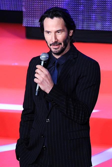 Keanu Reeves ở tuổi 49. Ảnh: Nick M.