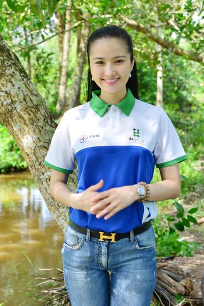 Cao Thuỳ Dương làm đại sứ cho chương trình Ước Mơ Việt Nam