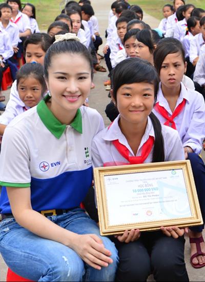Chương trình thực tế mang nhiều ý nghĩa cộng đồng và được thực hiện trên toàn quốc nhằm gíup các em nghèo học giỏi có thể được tiếp tục đến trường