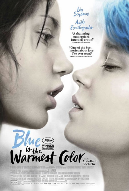 """Poster phim """"Blue is the Warmest Colour""""."""