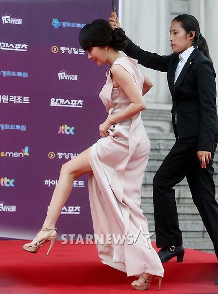 Lee Jung Hyun với kiểu