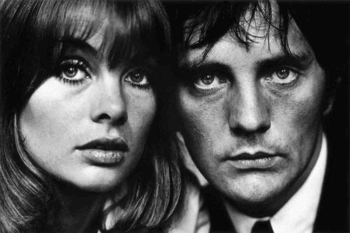 Jean Shrimpton and Terence Stamp (1963).
