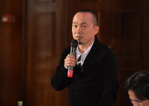 """Nhạc sĩ Quốc Trung là giám đốc âm nhạc của chương trình """"Giai điệu tự hào""""."""