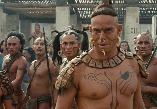 """""""Apocalypto"""" khai thác về thế giới văn minh của người Maya cổ đại."""