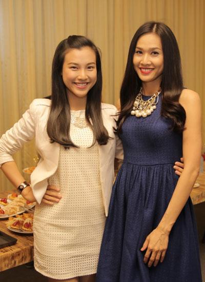 Á hậu Hoàng Oanh và Hoa hậu Dương Mỹ Linh là hai trong số nhiều nghệ sĩ tham gia dẫn chuyện qua từng tập phim.