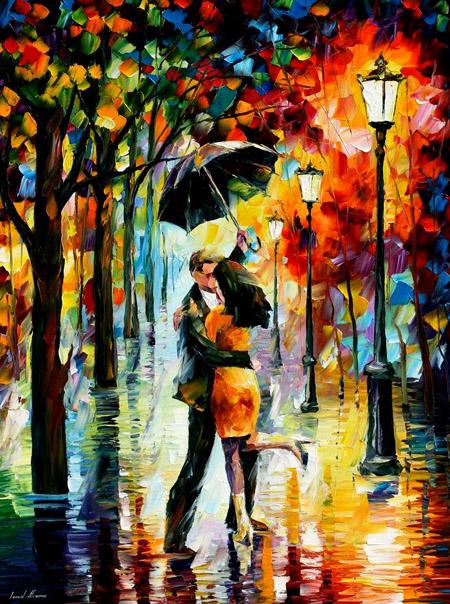 """""""Khiêu vũ dưới cơn mưa""""."""