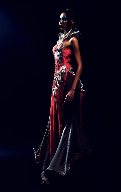 Đây là lần thứ tư nhà thiết kế Quỳnh Paris giới thiệu Bộ sưu tập áo dài hiện đại của mình tại Mỹ.