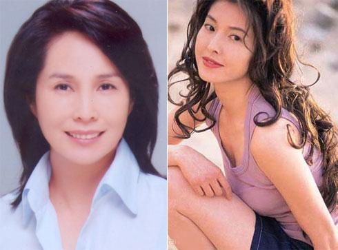 Kim Tố Mai (trái) và Lý Uyển Hoa - hai bóng hồng đi qua cuộc đời Hà Gia Kính.
