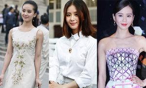 Váy áo tôn nét thanh tân của Lưu Thi Thi