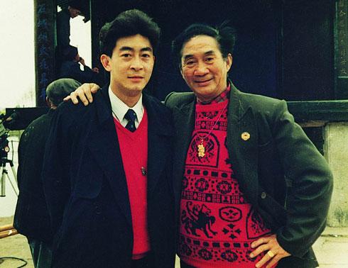 Cuộc đời của bố con Lục Linh Đồng (bên trái) gắn liền với nhân vật Tôn Ngộ Không.