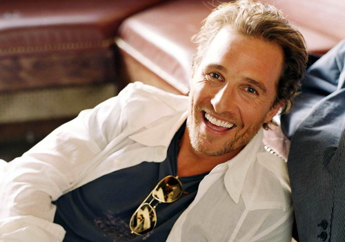 Tài tử Matthew McConaughey.