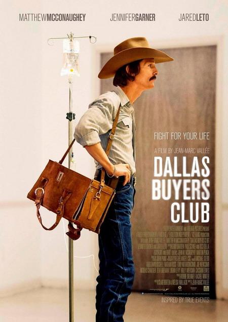 """Matthew giảm 23kg để vào vai """"con nghiện"""" trong phim """"Dallas Buyers Club""""."""