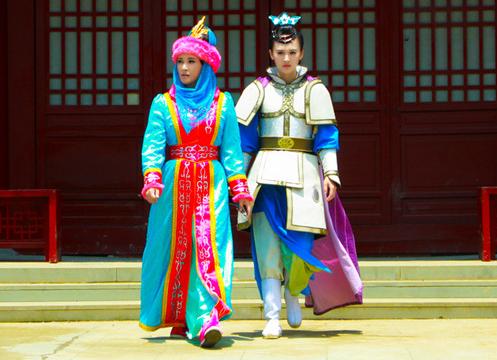 Lưu Hiểu Khánh trong Tùy Đường anh hùng 3.
