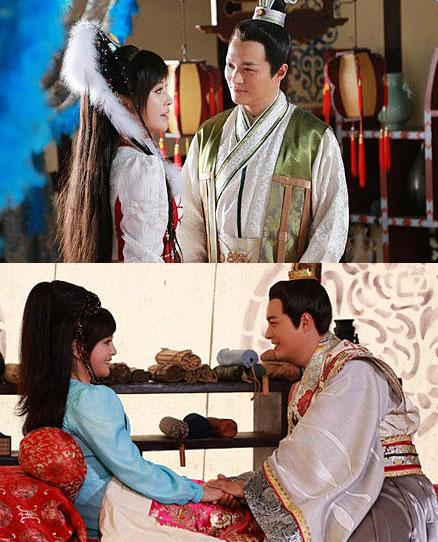 Lưu Hiểu Khánh và Trịnh Quốc Lâm trong phim.