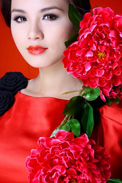 Hoa hậu Diễm Hương.