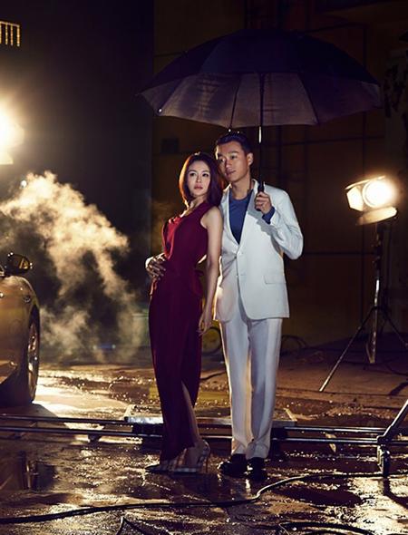 Vợ chồng dai diễn viên Đồng Đại Vy, Quan Duyệt cũng