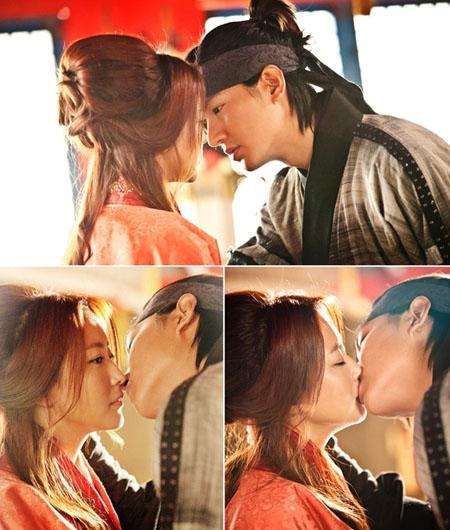 Lee Min Ho hôn Kim Hee Sun nồng nàn trong