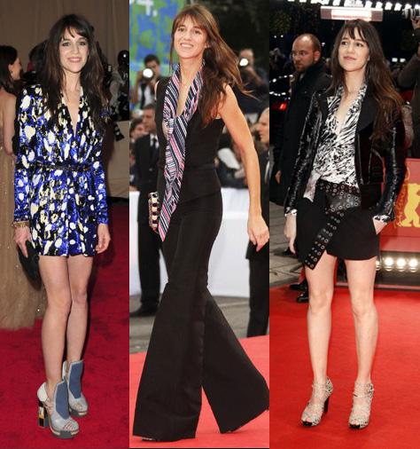 Là con gái của cặp sao người Pháp Jane Birkin và Serge Gainsbourg, diễn viên ca sĩ