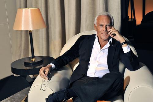 Hành động bỏ show của Armani tại Milan Fashion Week để tới Paris xem nhà thiết kế khác là một sự xúc phạm đối với Giorgio Armani. Ảnh: