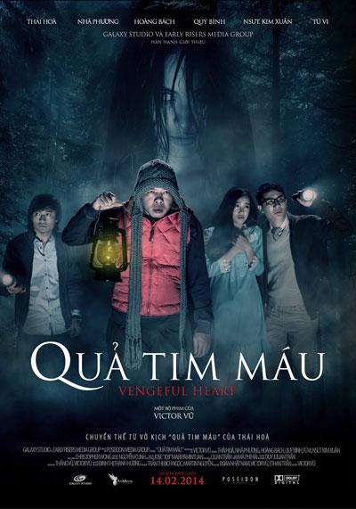"""""""Quả tim máu"""" đang đứng thứ nhì về doanh thu phim Việt."""