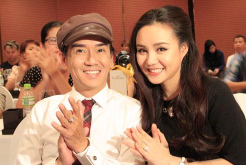 Minh Thuận và Vy Oanh lần đầu tiên đứng chung một sân khấu thi thố.