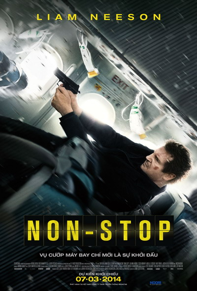 "Poster phim ""Non-Stop""."