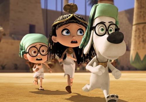 """Một cảnh trong phim """"Mr. Peabody & Sherman""""."""