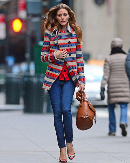 On Labels  I go with what looks good on me  no matter who makes it.  Olivia Palermo