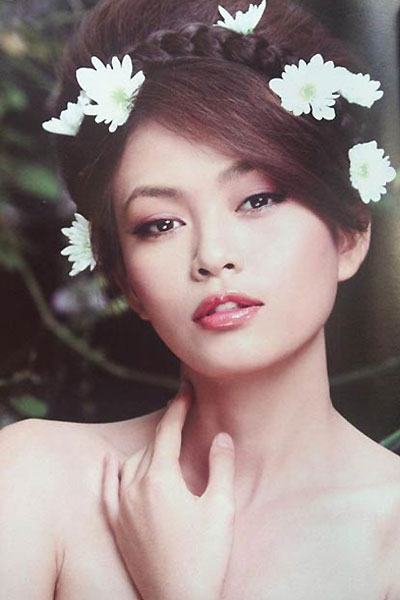 Người mẫu Mâu Thanh Thủy.