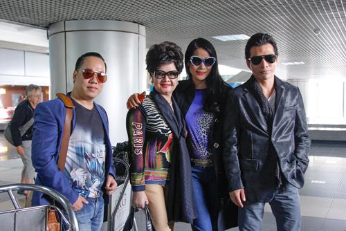 Trương Ngọc Ánh cùng với các giám khảo khác như Mentor Tùng Leo, nhà thiết kế Công Trí, nhà báo Trần Nguyễn Thiên Hương - đại diện tạp chí Harper's Bazaar Vietnam, sẽ tiếp tục