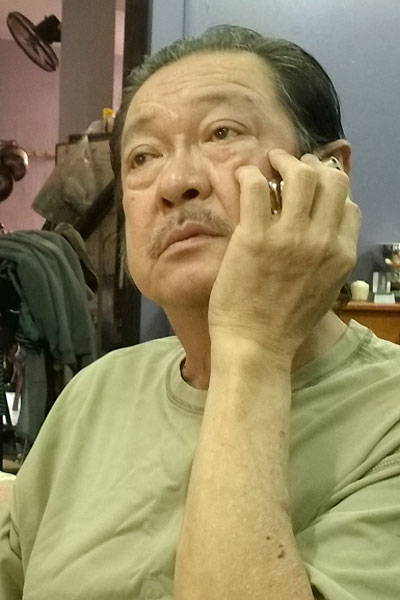 Nam diễn viên liên tục nhận được điện thoại hỏi thăm từ bạn bè, khán giả.