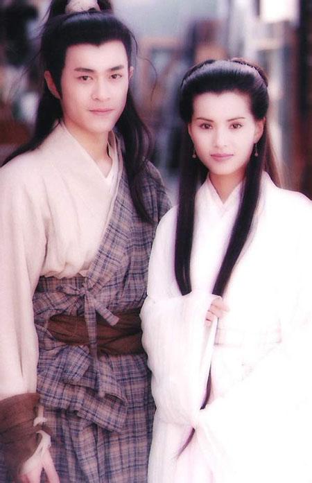 Lý Nhược Đồng và Cổ Thiên Lạc trong Thần điêu đại hiệp 1995.