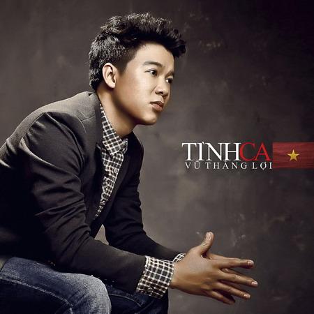 """Bìa CD """"Tình ca"""" của Vũ Thắng Lợi."""